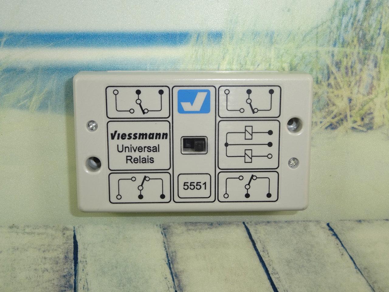 viessmann 5551 universalrelais relais. Black Bedroom Furniture Sets. Home Design Ideas