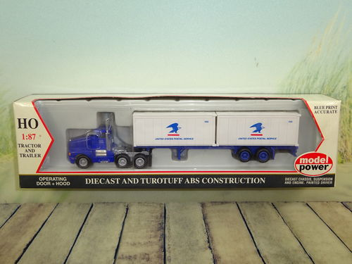ModelPower Truck United States Postal Service H0 OVP