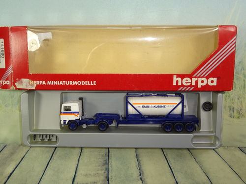 Herpa 141680 Volvo FH12 Container 30 Ft Intercooler Kube & Kubenz OVP