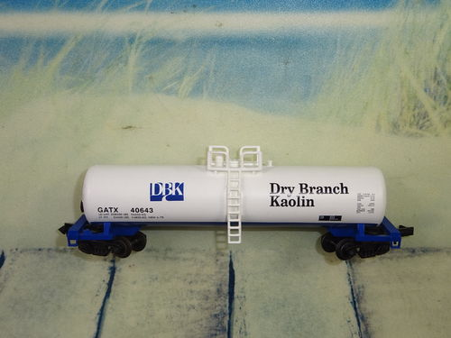 GATX Dry Branch Kaolin Tank Car