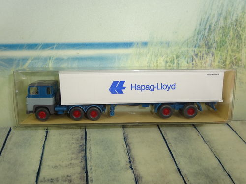 "Wiking 520 Container-Sattelzug ""HAPAG-LLOYD"" OVP"