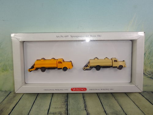 Wiking Sprengwagen Set OVP