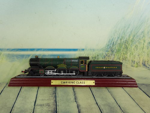 Standmodell GWR King Class